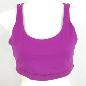 Lululemon fushia hot pink bra tank top sports